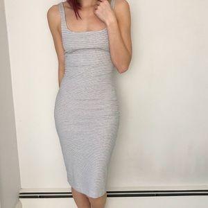 Zara Stretchy Midi Dress